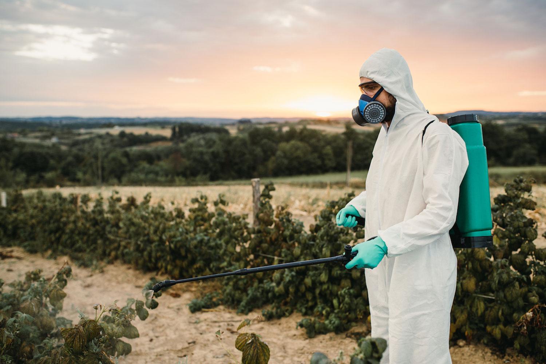 殺虫剤だけではダメ!防護服など必要なものもしっかりと揃えておく